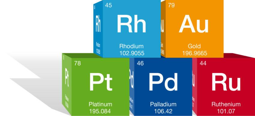 BASF Catalysts | Precious Metals Periodic Cubes